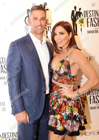 World Series Champion Jorge Posada and his TV personality wife Laura attend Destination Fashion 2016 to Benefit the Buoniconti Fund to Cure Paralysis at Bal Harbour Shops, in Bal Harbour, Fla