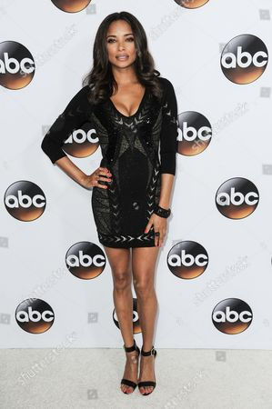 Rochelle Aytes arrives at the Disney/ABC Television Group 2015 Winter TCA Party, in Pasadena, Calif