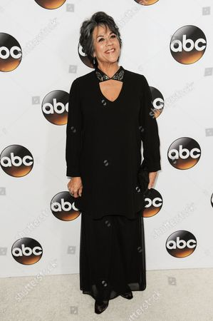Stock Photo of Terri Hoyos arrives at the Disney/ABC Television Group 2015 Winter TCA Party, in Pasadena, Calif