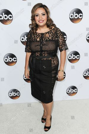 Cristela Alonzo arrives at the Disney/ABC Television Group 2015 Winter TCA Party, in Pasadena, Calif