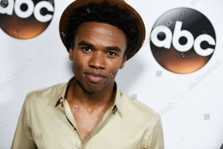 Luke Youngblood arrives at the Disney/ABC Television Group 2015 Winter TCA Party, in Pasadena, Calif