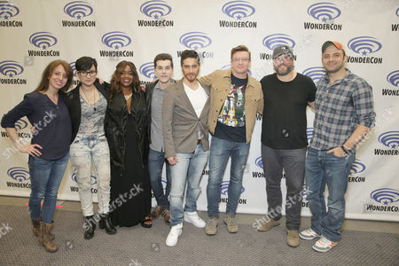 "Editorial picture of DreamWorks Animation ""Voltron: Legendary Defender"" Wondercon Presentation, Los Angeles, USA"