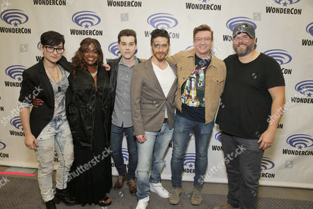 "Editorial photo of DreamWorks Animation ""Voltron: Legendary Defender"" Wondercon Presentation, Los Angeles, USA"