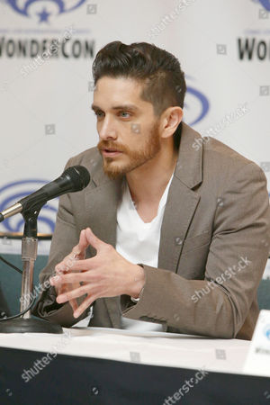 "Josh Keaton seen at DreamWorks Animation ""Voltron: Legendary Defender"" Wondercon Presentation at Los Angeles Convention Center, in Los Angeles, CA"