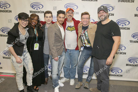 "Editorial image of DreamWorks Animation ""Voltron: Legendary Defender"" Wondercon Presentation, Los Angeles, USA"