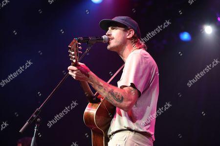 Artist Rayland Baxter performs at the Dylan Fest at Ryman Auditorium, in Nashville, Tenn