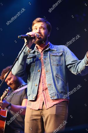 Artist Eric Pulido performs at the Dylan Fest at Ryman Auditorium, in Nashville, Tenn