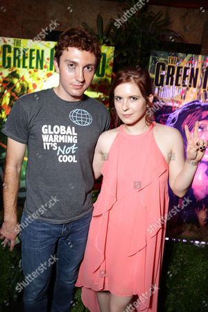 """Daryl Sabara and Magda Apanowicz seen at Eli Roth and BH Tilt """"The Green Inferno"""" at 2015 Comic-Con, in San Diego"""
