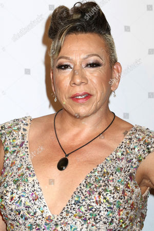 Bamby Salcedo attends the Elton John AIDS Foundation's 15th Annual An Enduring Vision Benefit at Cipriani Wall Street, in New York