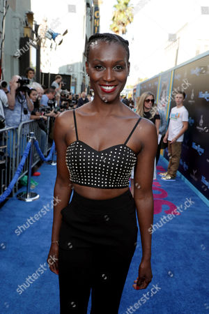 """Stock Picture of Jewelle Blackman seen at EuropaCorp Presents the World Premiere of """"Nine Lives"""" at TCL Chinese Theatre, in Los Angeles"""