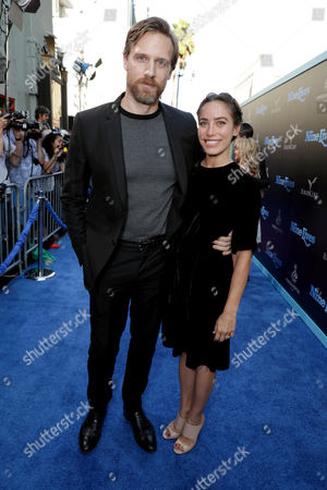 """Teddy Sears and Milissa Skoro seen at EuropaCorp Presents the World Premiere of """"Nine Lives"""" at TCL Chinese Theatre, in Los Angeles"""