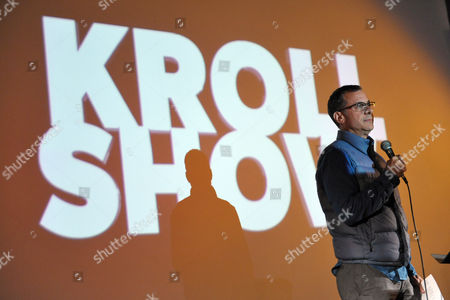 """Comedy Central's Head of Original Programming and Production Kent Alterman speaks onstage during an exclusive screening of Comedy Central's """"Kroll Show"""" hosted by Entertainment Weekly on at LA's Silent Movie Theatre in Los Angeles"""