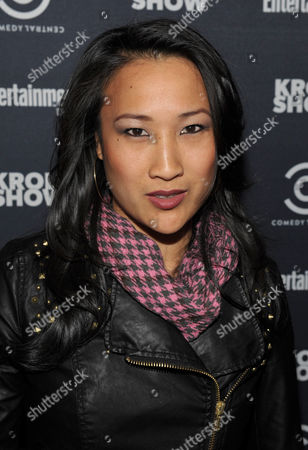 """Actress Tina Huang attends an exclusive screening of Comedy Central's """"Kroll Show"""" hosted by Entertainment Weekly on at LA's Silent Movie Theatre in Los Angeles"""