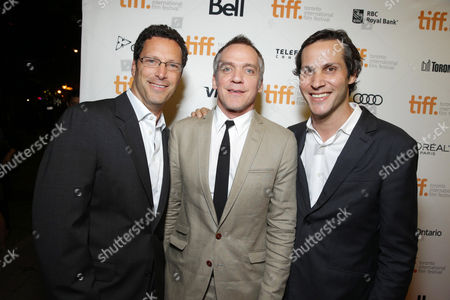 Focus Features co-CEO Andrew Karpen, Director Jean-Marc Vallee and President of Production at Focus Features Jeb Brody seen at Focus Features 'Dallas Buyers Club' Premiere at 2013 TIFF presented by Audi, on Saturday, Sep, 7, 2013 in Toronto