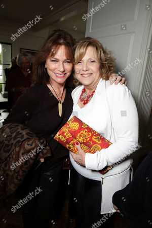 Stock Picture of Jacqueline Bissett and Brenda Vaccaro seen at Focus Features 'The Danish Girl' Brunch hosted by Anne Hathaway and Dustin Lance Black, in Beverly Hills, CA