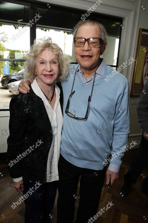 Stock Picture of Pat York and Michael York seen at Focus Features 'The Danish Girl' Brunch hosted by Anne Hathaway and Dustin Lance Black, in Beverly Hills, CA
