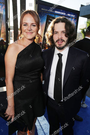Producer Nira Park and Director/Writer Edgar Wright seen at Focus Features Los Angeles Premiere of 'The World's End', on Wednesday, August, 21, 2013 in Los Angeles