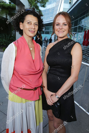 Universal Pictures co-Chairman Donna Langley and Producer Nira Park seen at Focus Features Los Angeles Premiere of 'The World's End', on Wednesday, August, 21, 2013 in Los Angeles