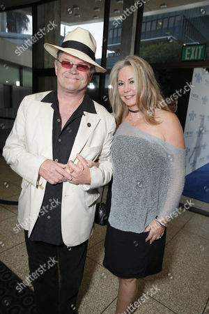 Micky Dolenz and wife Donna Quinter seen at Focus Features Los Angeles Premiere of 'The World's End', on Wednesday, August, 21, 2013 in Los Angeles