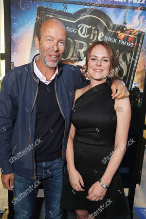 Producers Eric Fellner and Nira Park seen at Focus Features Los Angeles Premiere of 'The World's End', on Wednesday, August, 21, 2013 in Los Angeles