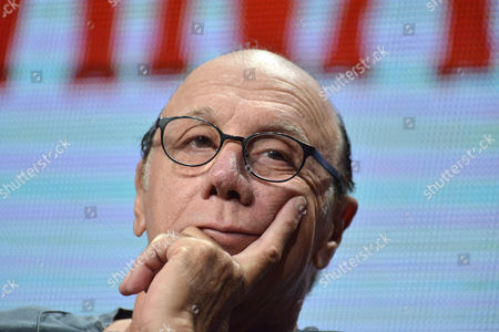 Dayton Callie on stage during the Sons of Anarchy panel at the The FX 2014 Summer TCA held at the Beverly Hilton Hotel, in Beverly Hills, Calif