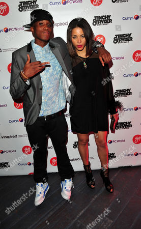 Maxsta, Ana Araujo arrives at the Goji Tinchy Stryder: On Cloud 9 Launch Event for his Goji headphones and audio accessories range available exclusively at Currys and PC World at Paramount, Center Point, on in London