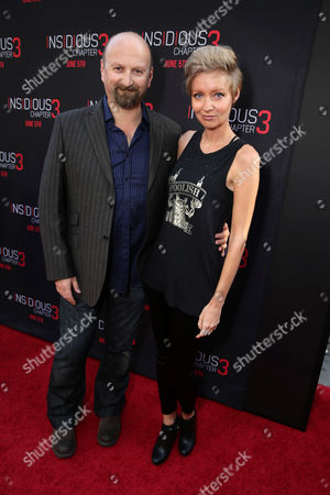 """Stock Photo of Neil Marshall and Axelle Carolyn seen at Gramercy Pictures presents the world premiere of """"Insidious: Chapter 3"""" held at TCL Chinese Theatre, in Hollywood"""