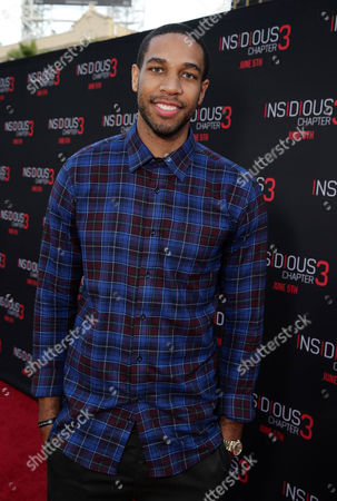 """Xavier Henry seen at Gramercy Pictures presents the world premiere of """"Insidious: Chapter 3"""" held at TCL Chinese Theatre, in Hollywood"""