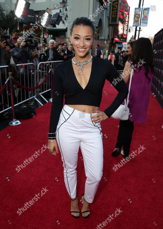 "Danielle Vega seen at Gramercy Pictures presents the world premiere of ""Insidious: Chapter 3"" held at TCL Chinese Theatre, in Hollywood"