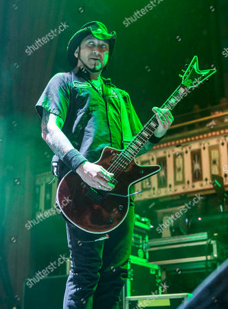 Tom Maxwell with Hellyeah performs at the Tabernacle, in Atlanta