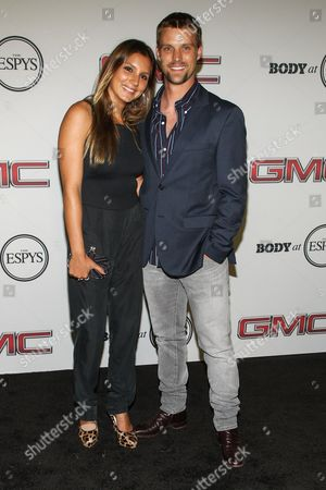 Surfer Maya Gabeira (L) and actorJesse Spencer at the Body at ESPYS Party sponsored by Hennessy V.S on at Lure in Los Angeles, CA