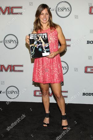 Stock Photo of Professional motocross rider Tarah Gieger at the Body at ESPYS Party sponsored by Hennessy V.S on at Lure in Los Angeles, CA