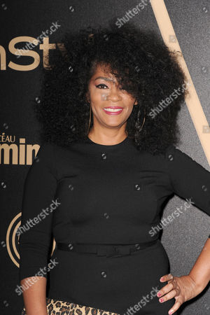 Jody Watley attends HFPA and InStyle's Golden Globe award season celebration at Cecconi's, in West Hollywood