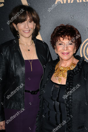 Orly Adelson, Dr. Aida Takla-O'Reilly attends HFPA and InStyle's Golden Globe award season celebration at Cecconi's, in West Hollywood