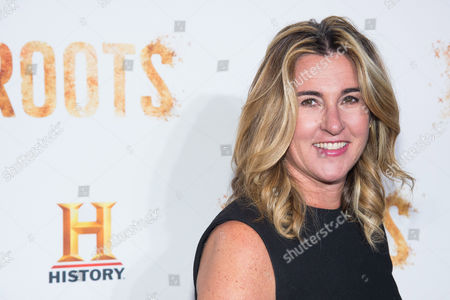 """Nancy Dubuc attends History Channel's """"Roots"""" mini-series premiere at Alice Tully Hall, in New York"""