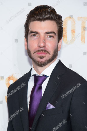 """Stock Photo of Brandon Stacy attends History Channel's """"Roots"""" mini-series premiere at Alice Tully Hall, in New York"""