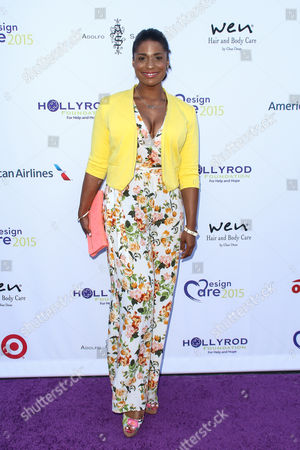 Kimrie Lewis-Davis attends HollyRod's 17th Annual DesignCare Gala held at The Lot Studios, in West Hollywood, Calif