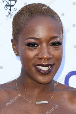 Stock Image of Kimberly Nichole attends HollyRod's 17th Annual DesignCare Gala held at The Lot Studios, in West Hollywood, Calif