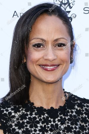Anne-Marie Johnson attends HollyRod's 17th Annual DesignCare Gala held at The Lot Studios, in West Hollywood, Calif