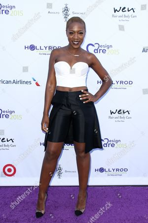 Kimberly Nichole attends HollyRod's 17th Annual DesignCare Gala held at The Lot Studios, in West Hollywood, Calif