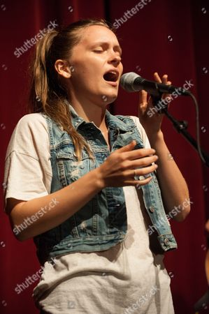 Meegan Closner of Joseph opens up for James Bay performs at The Fillmore on in Miami Beach, Fla