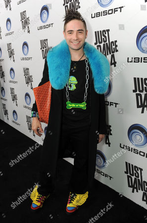 Editorial picture of Just Dance 4 Launch Party, Los Angeles, USA