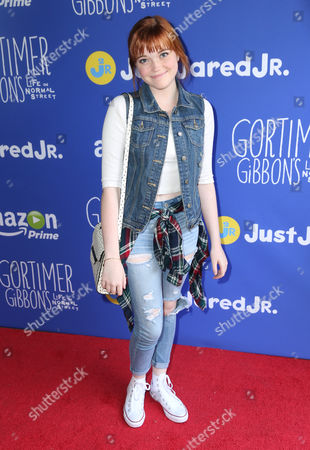 """Kennedy Lea Slocum attends Just Jared Jr.'s Fall Fun Day celebrating Season 2 of Amazon Prime's """"Gortimer Gibbon's Life on Normal Street"""", in Los Angeles"""