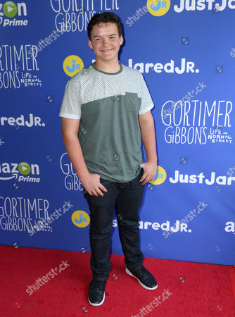 """Aedin Mincks attends Just Jared Jr.'s Fall Fun Day celebrating Season 2 of Amazon Prime's """"Gortimer Gibbon's Life on Normal Street"""", in Los Angeles"""