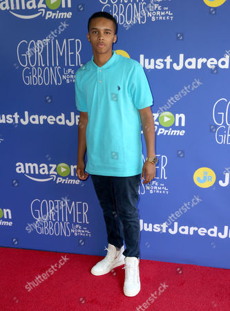 "Donis Leonard Jr. attends Just Jared Jr.'s Fall Fun Day celebrating Season 2 of Amazon Prime's ""Gortimer Gibbon's Life on Normal Street"", in Los Angeles"