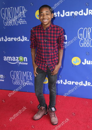 """Editorial image of Just Jared Jr.'s Fall Fun Day Celebrating Season 2 of Amazon Prime's """"Gortimer Gibbon's Life on Normal Street"""", Los Angeles, USA"""