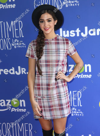 """Sammi Sanchez attends Just Jared Jr.'s Fall Fun Day celebrating Season 2 of Amazon Prime's """"Gortimer Gibbon's Life on Normal Street"""", in Los Angeles"""