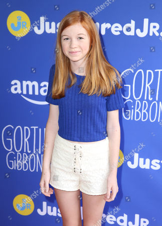"""Abby Donnelly attends Just Jared Jr.'s Fall Fun Day celebrating Season 2 of Amazon Prime's """"Gortimer Gibbon's Life on Normal Street"""", in Los Angeles"""
