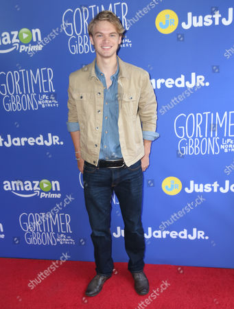 "Kenton Duty attends Just Jared Jr.'s Fall Fun Day celebrating Season 2 of Amazon Prime's ""Gortimer Gibbon's Life on Normal Street"", in Los Angeles"