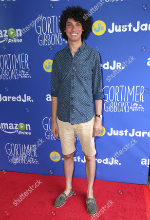 Luke Matheny attends Just Jared Jr.'s Fall Fun Day celebrating Season 2 of Amazon Prime's 'Gortimer Gibbon's Life on Normal Street', in Los Angeles